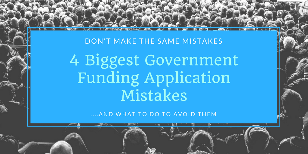 Government Funding Application Mistakes