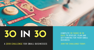 30 in 30 Business Challenge