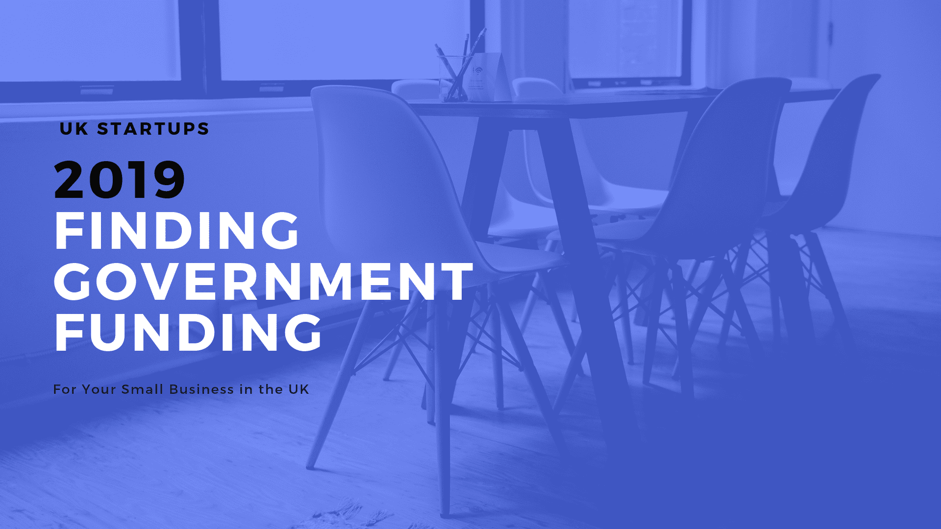 Finding Government Funding in the UK