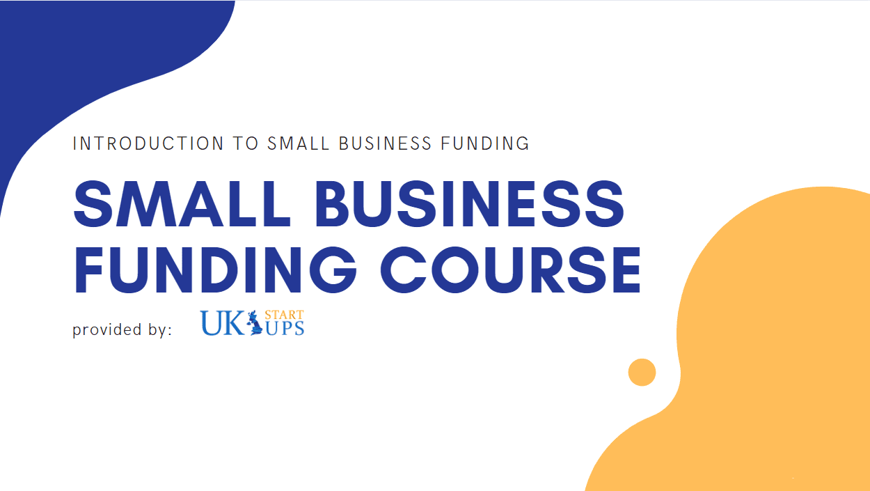 UK Small Business Funding Course