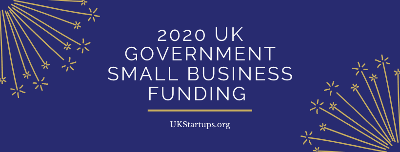 2020 UK Government Small Business Funding