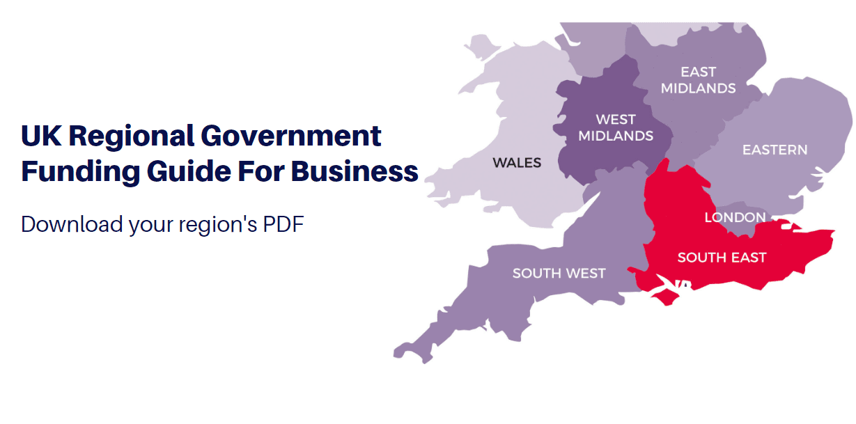 regional government funding UK