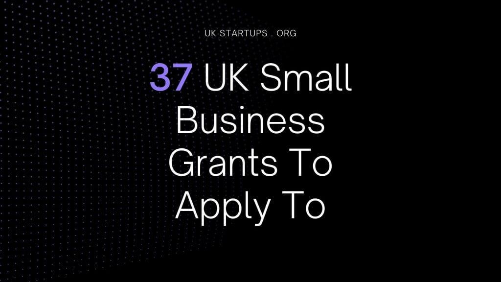 UK small business grants
