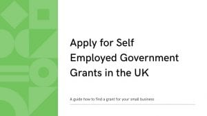 Apply for Self Employed Government Grants in the UK